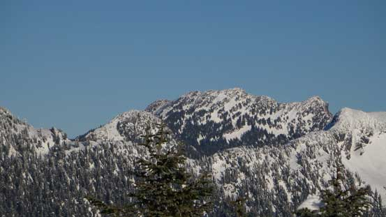 Brunswick Mountain is the North Shore's highest