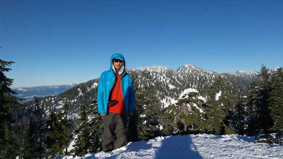 Me on the summit of Hollyburn Mountain