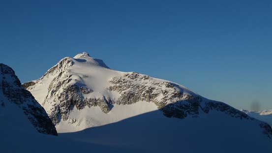 Slalok Mountain from J/M col. It's on my list as winter ascent too..