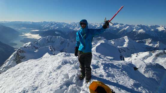 Me on the summit of Mt. Matier