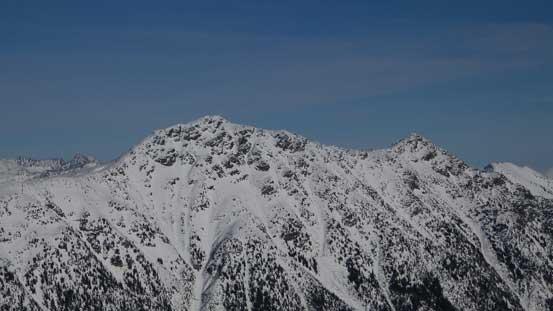 The summit of Mt. Rohr