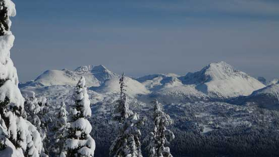 A look at Mt. Weart and Wedge Mountain, two giants in Garibaldi P. Park