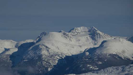 A closer look at Mt. Weart