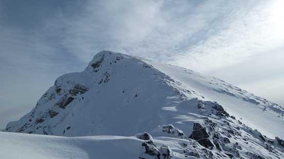 I'd follow the ridge up