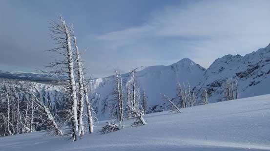 One last look at the east peak
