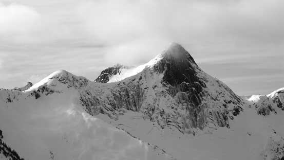 The N. Face of Yak Peak