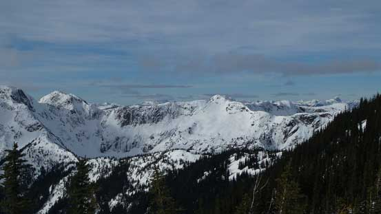 The north side of Zopkios Ridge
