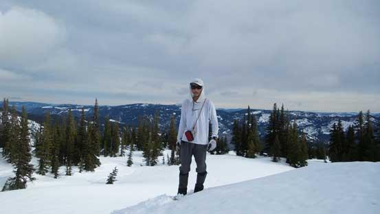Me on the summit of Zoa Peak