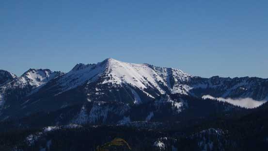 Rock Mountain is another winter classic near Stevens Pass