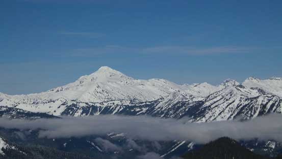 Glacier Peak - the most remote among Washington's volcanoes