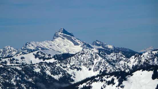 """""""Matterhorn of the Cascades"""" - Sloan Peak"""