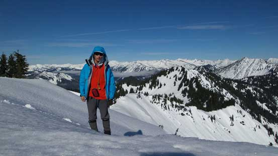 Me on the summit of Jove Peak - my 500th summit