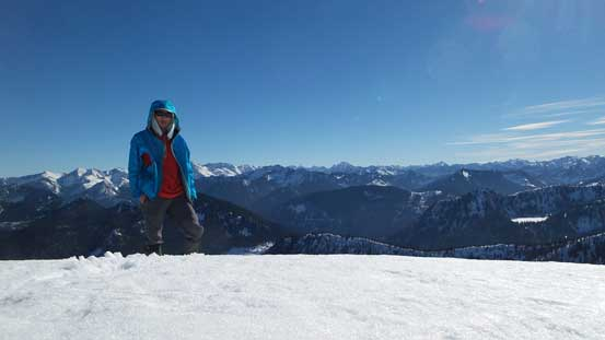 A 3rd picture of me on the summit...