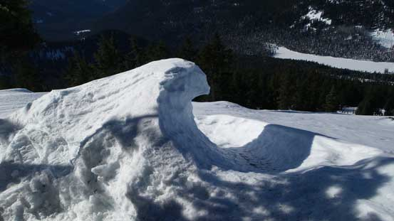 Interesting snow formation...