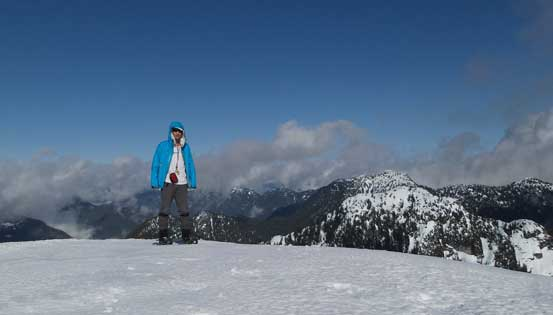 Me on the summit of Mt. Seymour