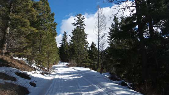 The typical plod along Iron Mountain Road