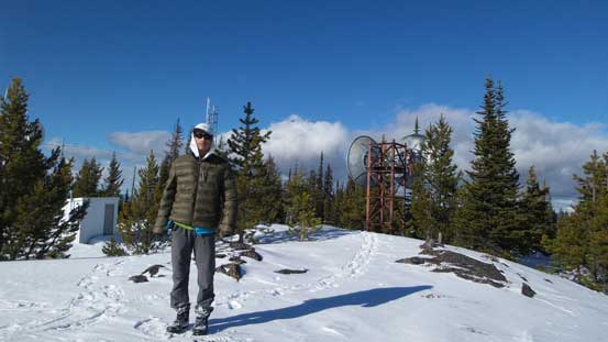 Me on the summit of Iron Mountain