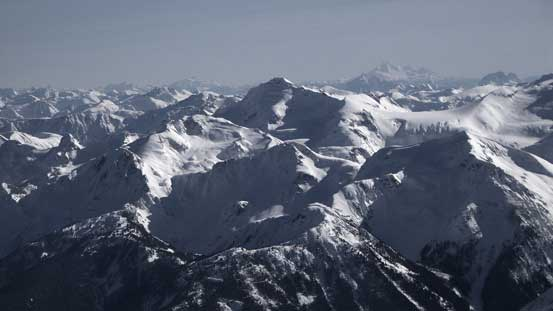 Nivalis Mountain is a remote peak on McBride Range