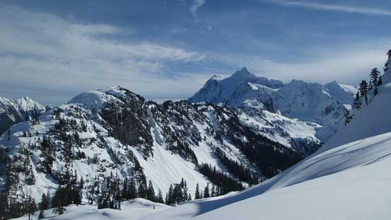 The Shuksan Arm and Mt. Shuksan