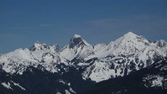 The Border Peaks and Mt. Larrabee