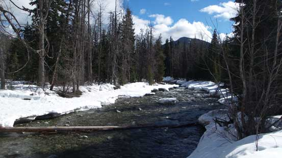 The thawing Similkameen River
