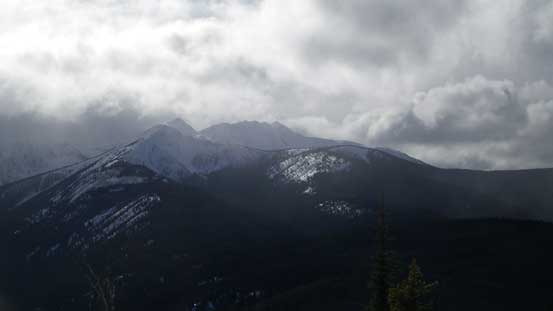Frosty Mountain is the highest in Manning Park