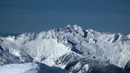 Mt. Dione / Mt. Tantalus massive