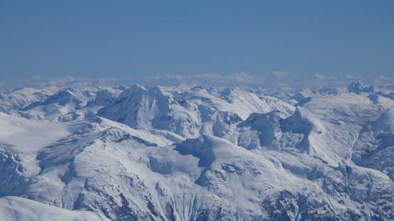 Mt. Pitt is probably the most remote giant in Garibaldi Provincial Park