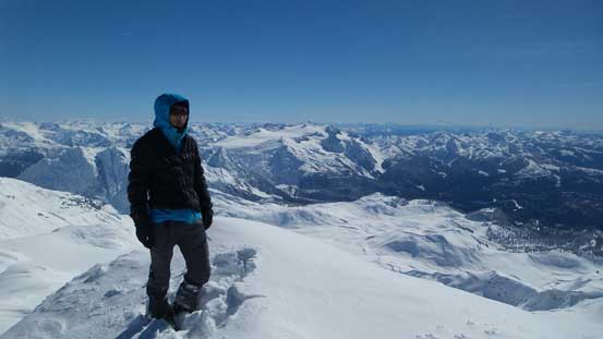 Me on the summit of Mt. Garibaldi