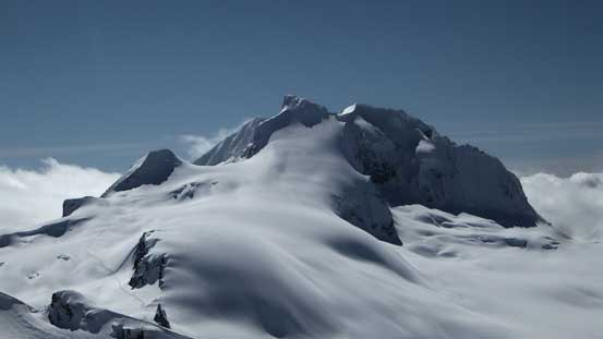 A closer look at Mt. Garibaldi massif