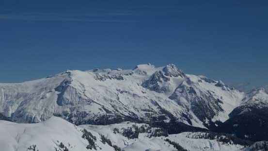 Great view of Mamquam Mountain