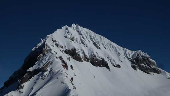 Looking back at Atwell Peak