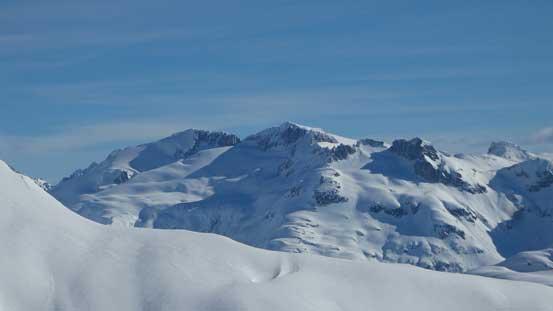 Parapet and Isosceles Peaks