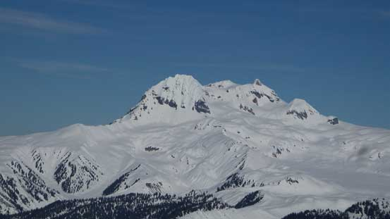 The Mt. Garibaldi massif