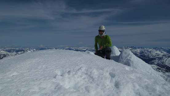 Me on the summit of Mt. Shuksan