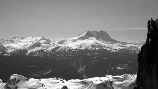 Mt. Garibaldi massif - happy to have both Garibaldi and Atwell bagged