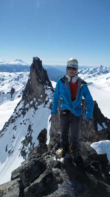 Me on the summit of Mt. Fee North Tower