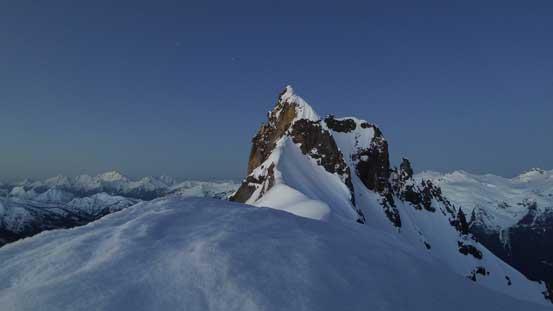 Pyroclastic Peak before dawn