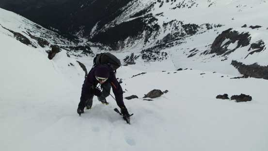 """The last few steps to the """"summit"""""""