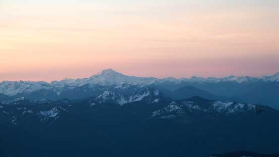 Glacier Peak is another volcano in Washington