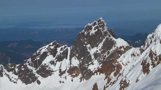 Lincoln Peak is one of the most difficult peak-bagging projects in Washington state.