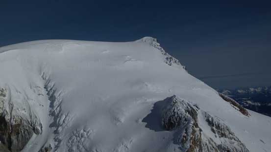 The summit of Mt. Baker