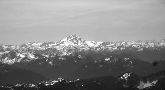Glacier Peak - the most remote of the Washington volcanoes