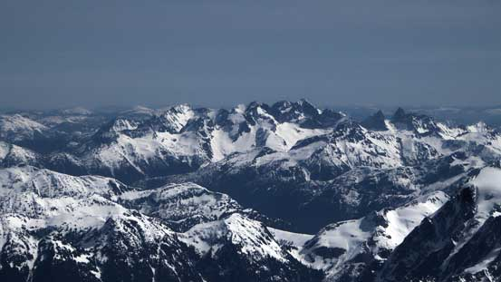 Mt. Spickard et al. in the North Cascades