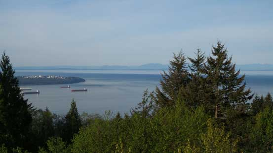 An obligatory stop at the tourist's viewpoint along Cypress Road
