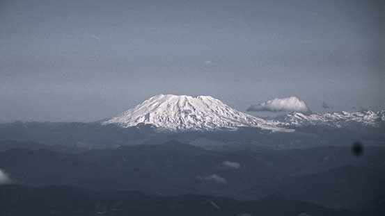 Mt. St. Helens is the smallest of these volcanoes