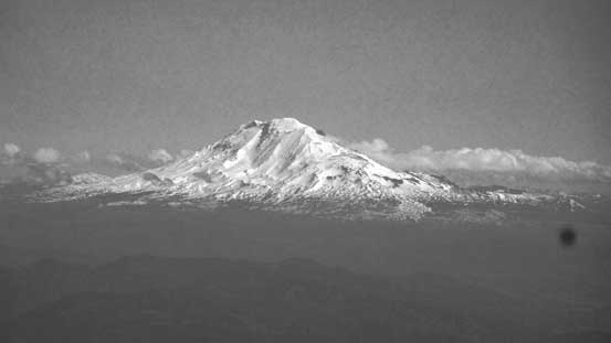 Mt. Adams might not seem grand, but it's 3700+ meter high!