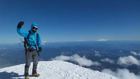 Me on the summit of Mt. Hood