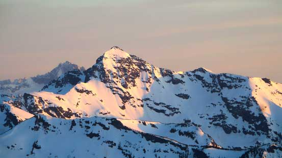 Silvertip Mountain is a giant..