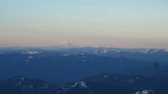 Even Mt. Hood was visible!